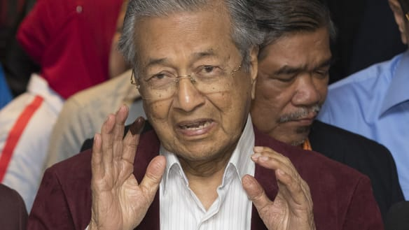 Mahathir claims historic victory in incredible Malaysian election