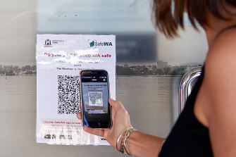 The contact register system is expanding to cover most shops and venues in WA.