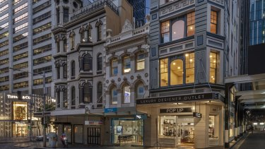 Hotelier Sam Arnaout has sold the building at 106 King Street for $23.5 million.