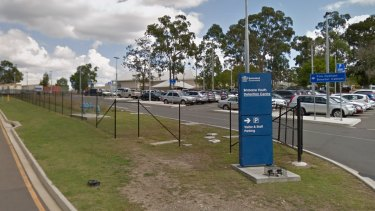 """The Brisbane Youth Detention Centre in Wacol, where detainees are now allowed to move around in a """"structured way""""."""