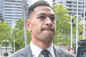 Super League says it accepts that Israel Folau has been legally registered as a player.