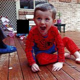 The question of what happened to the boy in the Spider-Man suit remains a mystery.