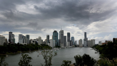 Brisbane is expecting damp days from Friday to the middle of next week.