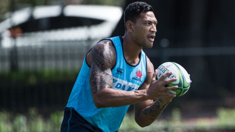 'One of the best': The Waratahs want to keep Folau despite interest from Queensland and abroad.