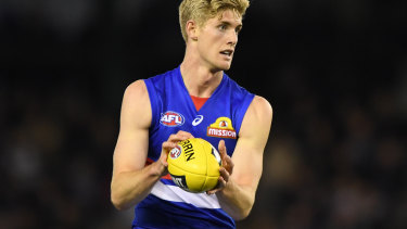 Tim English is among the tallest AFL players.