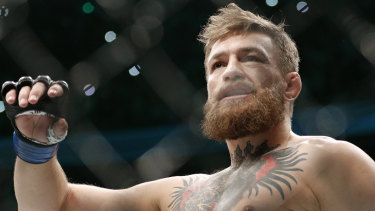 Investigation: the revelations came just one day after Conor McGregor's latest retirement from the UFC.