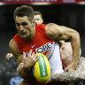Swans' top-four hopes shattered as Saints keep season alive