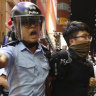 Arrests as Hong Kong protesters take aim at Chinese visitors