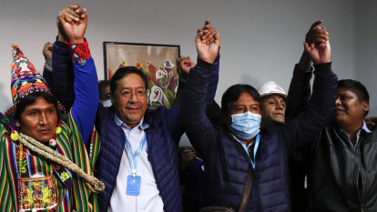 Morales' minister wins Bolivia's presidential election