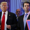 Trump company and finance chief 'indicted in tax probe'