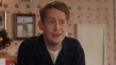 Macaulay Culkin as grown-up Kevin McAllister in a 2018 ad for Google.