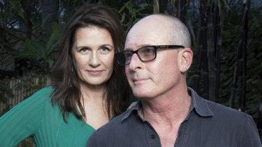 Producer Carmen Pavlovic and designer Peter England.