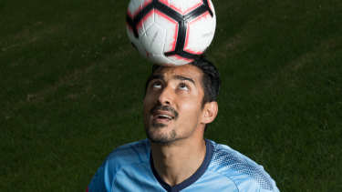 Four times more followers then Tim Cahil: Sydney FC's new star, Reza Ghoochannejhad.