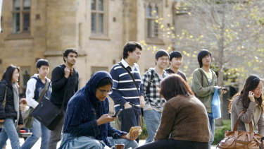 New figures show international student visa applications for Australia have fallen by a third.