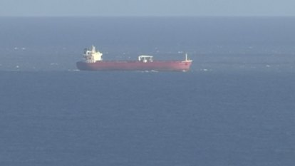 British police seize control of oil tanker with stowaway trouble