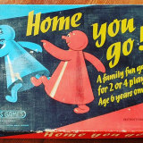 The Fincke family of Newport is playing vintage games including this recent op shop find, 'Home You Go'.