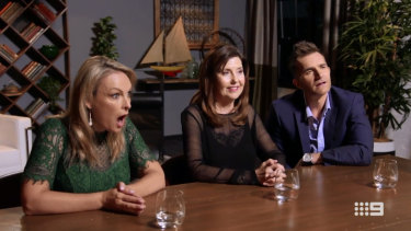 Are Mel Schilling, (left), Trisha Stratford (middle) and John Aiken (right) the most hated people on Married at First Sight?