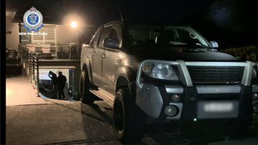 """A homeowner said the driveway arrest was """"an embarrassment to the neighbourhood""""."""
