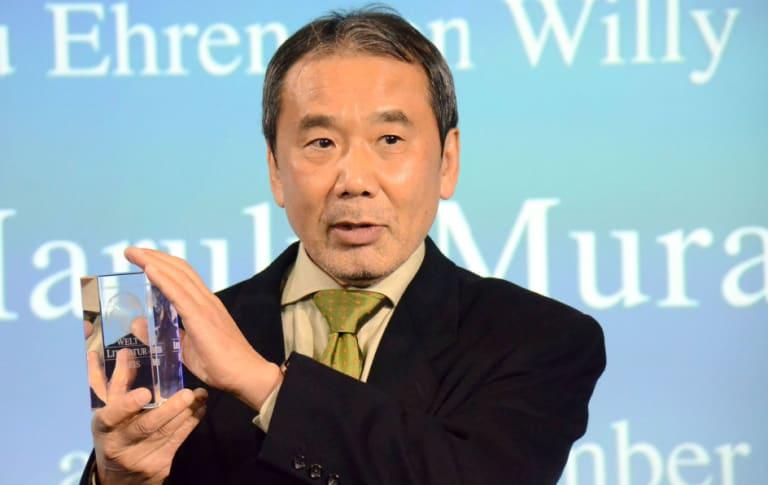 Novelist Haruki Murakami.