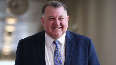 Thumbs up: Liberal MP Craig Kelly says Australia can't lecture Azerbaijan on electoral fraud.