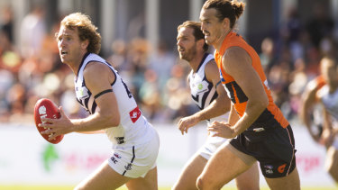 David Mundy celebrated his 300th game in round 5.