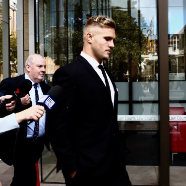 Star prop Jack de Belin's legal issues extended beyond the two trials – he took the NRL to court, unsuccessfully, to challenge its decision to stand him down while he faced charges on aggravated  sexual assault.