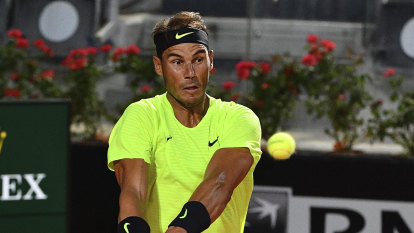 'Perfect start': Nadal cruises through in Rome despite 200-day absence