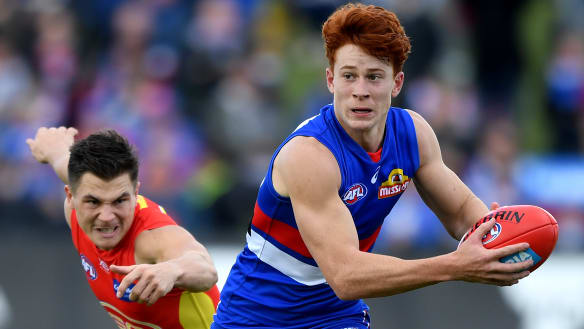 By golly, it's a Richards playing for the Western Bulldogs