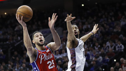 Simmons, Sixers lock in defensively to beat Nets in game 200