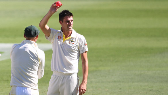 Pat Cummins is now ranked the No.1 Test bowler in the world.