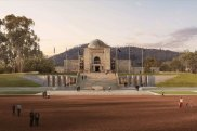 The new look proposed for the Australian War Memorial.