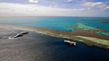 Hardy Reef, part of the Great Barrier Reef.