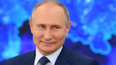 Russian President Vladimir Putin said he wanted to improve relations with Europe.