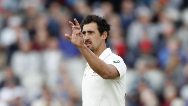 The treatment of Mitchell Starc was confusing to Ian Chappell.