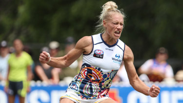 Dual best and fairest winner Erin Phillips reinforced her claims as the best player in AFLW