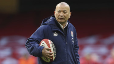 Lisa Alexander has already been in touch with England rugby head coach Eddie Jones.