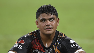 South Sydney star Latrell Mitchell has been banned for the rest of the season.