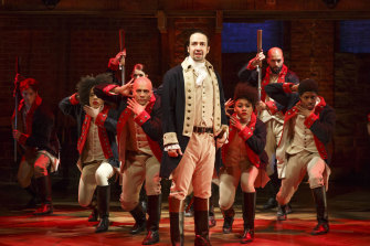 Lin-Manuel Miranda takes the lead in the hit musical Hamilton, due to open in Sydney in March. The show has been described as an 'alchemy of wonderfulness'.