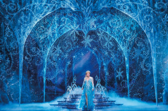 Additional safety measures are in place backstage in Disney's Frozen.