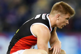 St Kilda's Seb Ross did not play against the Crows for family reasons.