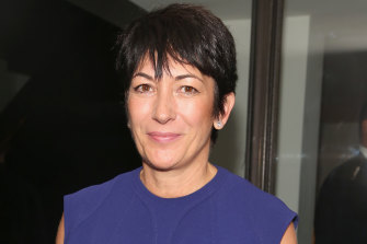 Ghislaine Maxwell, pictured in New York in 2016, is being held in a Brooklyn jail.