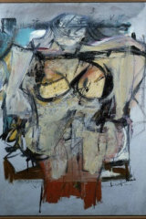The stolen Willem de Kooning painting, with an estimated worth of $160 million.