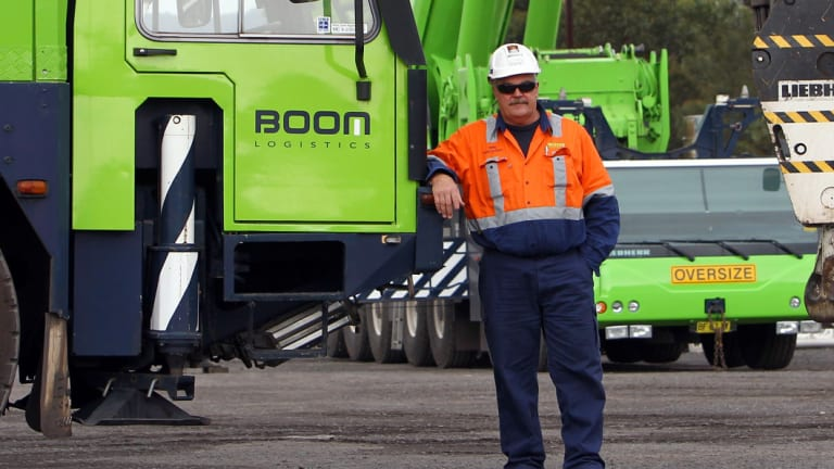 Boom Logistics crane operators have won a pay rise after a five-week strike.