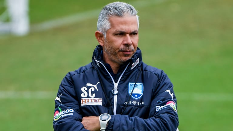 Stepping up: Steve Corica has taken the reins at Sydney FC.
