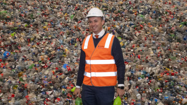 Energy and Environment Minister Matt Kean has his sights on tackling NSW's plastic waste problems.