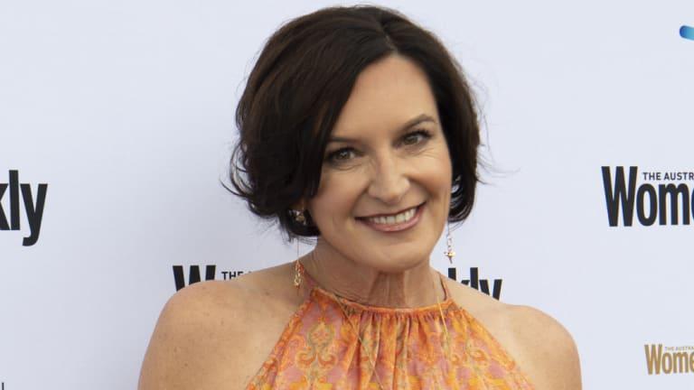 Cassandra Thorburn at the women's awards event on Wednesday.
