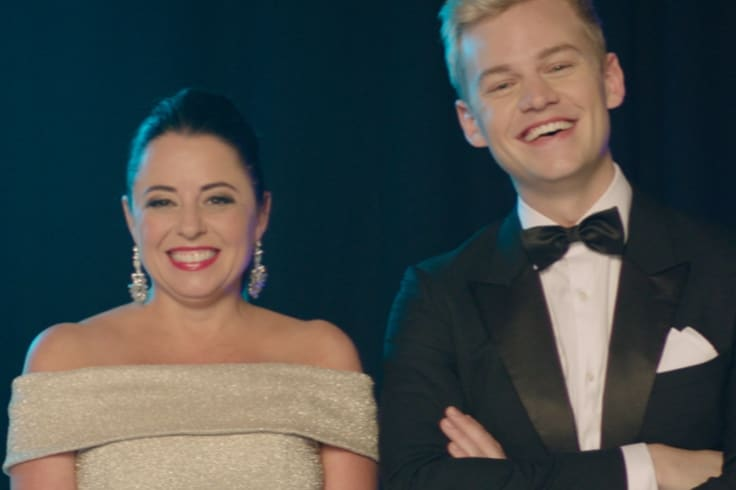 Myf Warhurst and Joel Creasey will host Eurovision in 2019.