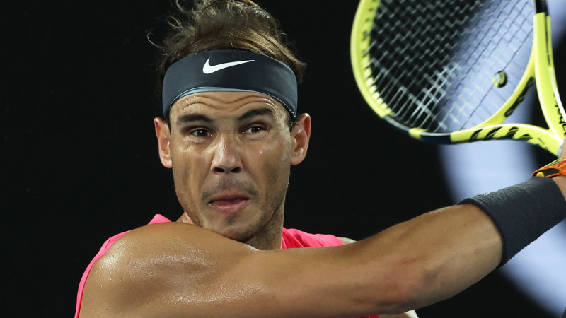 'I really don't care': Nadal dismisses Kyrgios impersonation