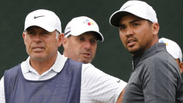 Jason Day and caddie Steve Williams at a disastrous British Open for the former Australian world No.1.
