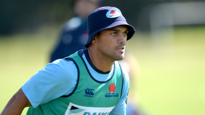Hunt signs one-year extension with Waratahs as he eyes Wallabies return